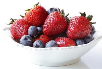 blueberries-strawberries