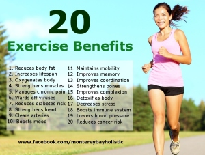 20 Exercise Benefits