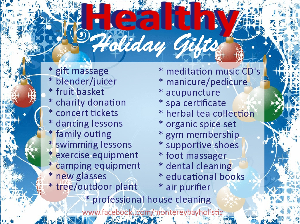 healthy holiday | Monterey Bay Holistic Alliance