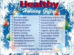25 Healthy Holiday Gifts