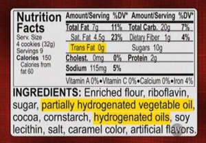 Trans Fat Misleading Label