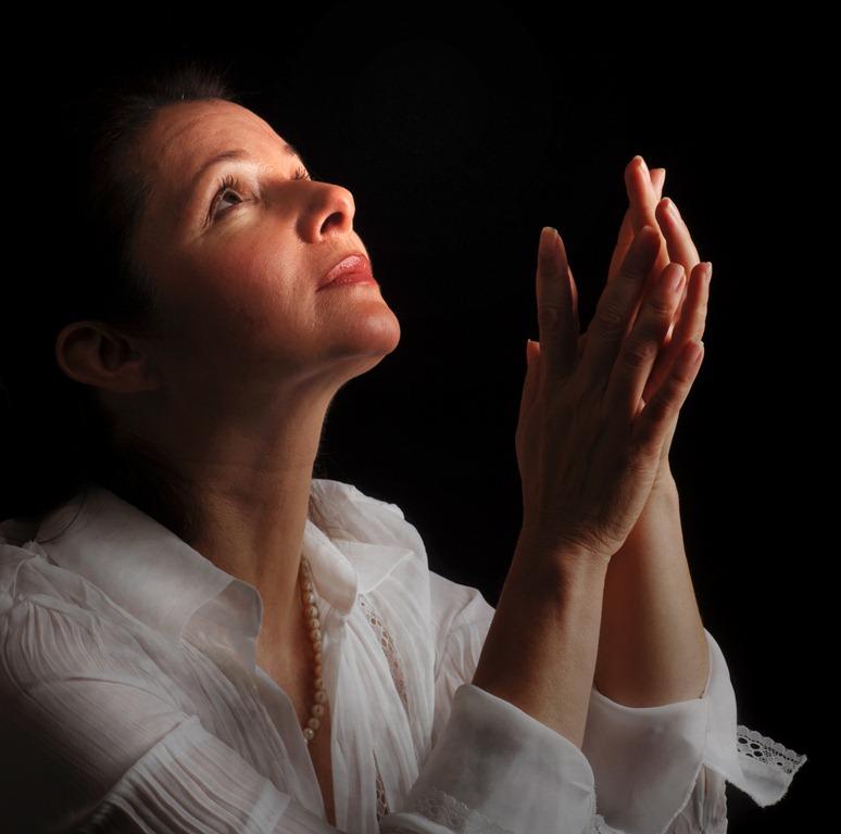 Woman Praying Painting Woman Praying One Forgives to