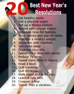 20 Best New Year's Resolutions