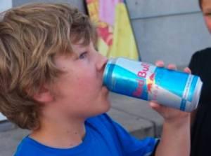 Child Red Bull