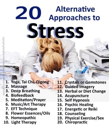 Alternative Stress Treatment