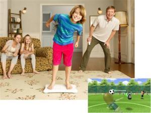 Children Wii Fit