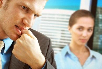 Stress Symptom Nail Biting