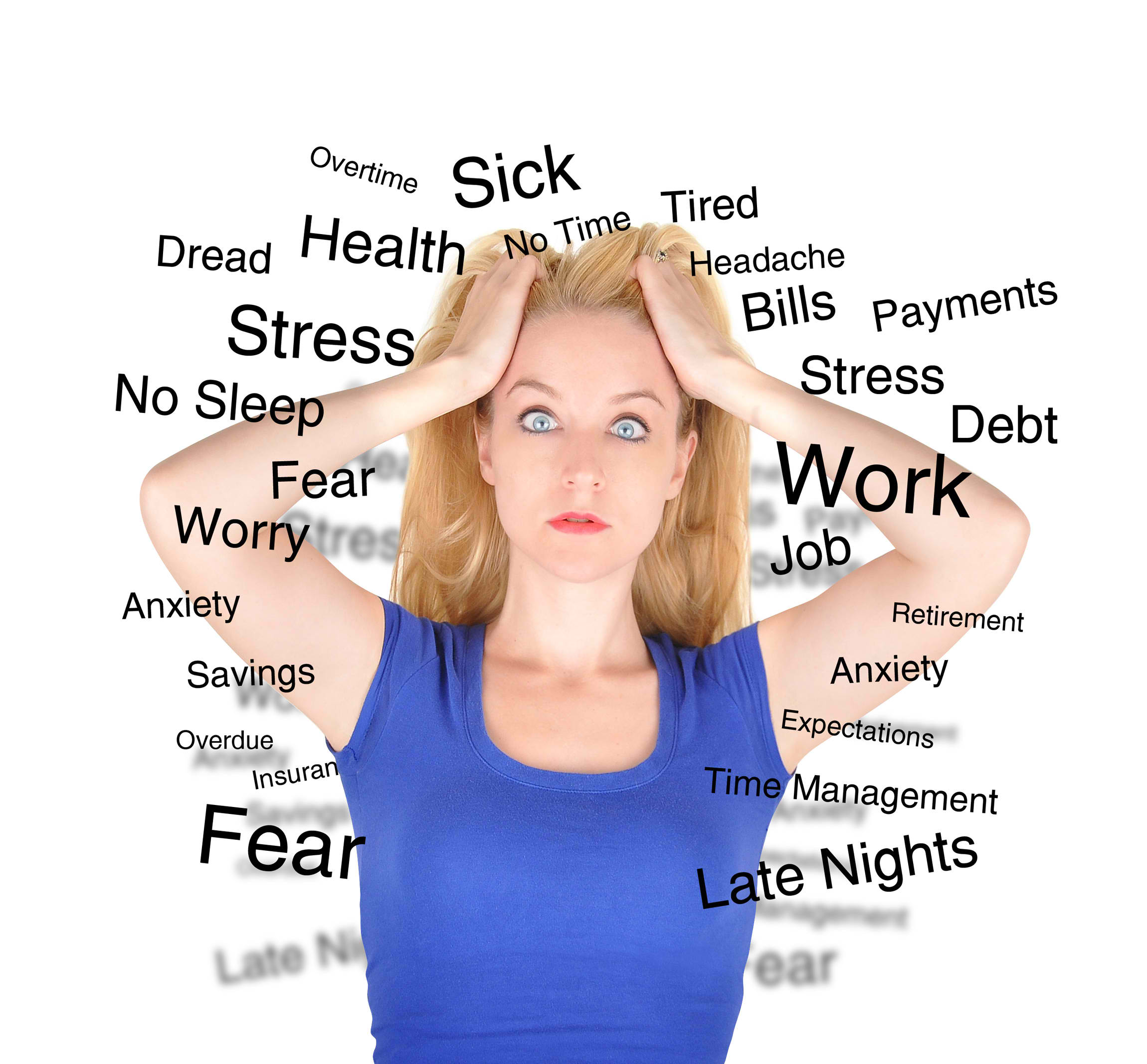 The common stressors and factors affecting