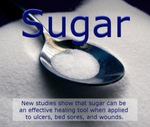Sugar and healing