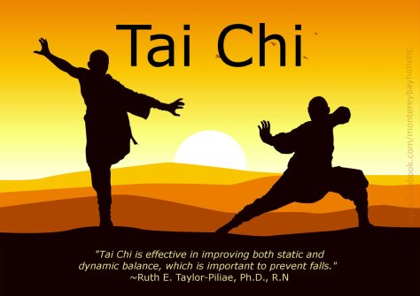Tai Chi helps prevent falls