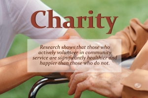 Volunteering Improves Health