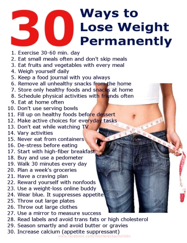 30 Ways to Lose Weight and Keep it Off