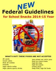 School Snack Restrictions