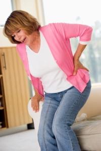 Back Pain Woman