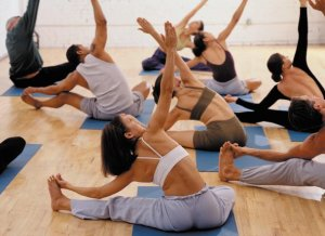 Yoga Class Sit