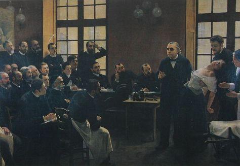 Hypnotism - Salpêtrière Hospital 1800s