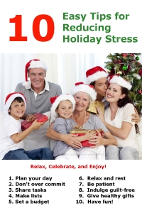 10 Holiday Tips for No Stress
