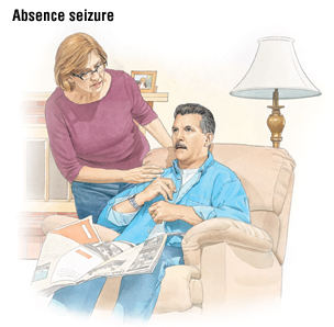 absence seizure in adult