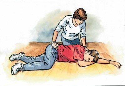 Epilepsy recovery position