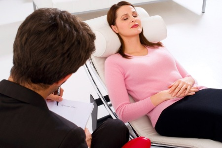 Hypnotherapy Session woman