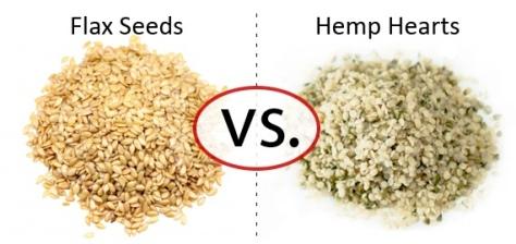 Flax vs Hemp