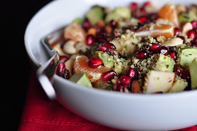hemp seed fruit salad