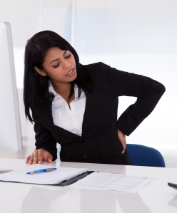 back pain- woman