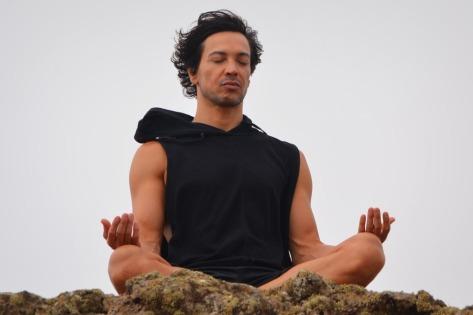 meditation man