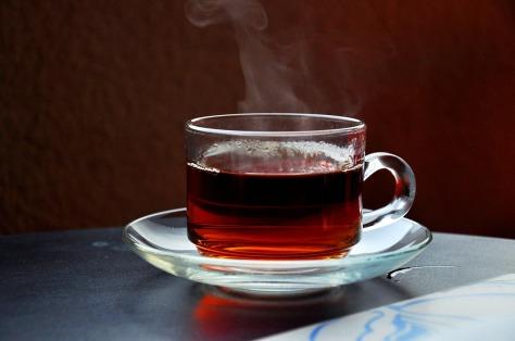 cup of hot tea