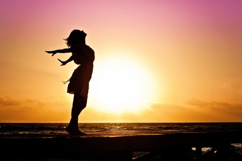 woman surrender